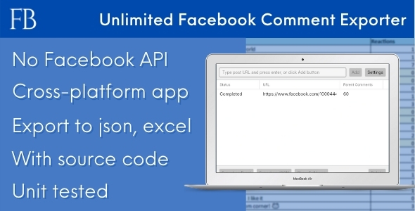 FBCE - Unlimited Facebook Comment Scraper