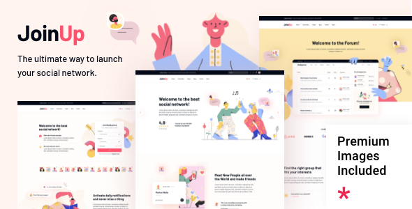 Join Up - BuddyPress Community Theme