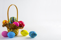 Easter eggs in the basket - PhotoDune Item for Sale
