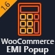 WooCommerce EMI Popup - CodeCanyon Item for Sale