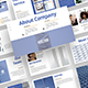 Clean and Neat Company Pitch Deck Template - GraphicRiver Item for Sale