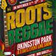 Reggae Music Flyer Template V2 - GraphicRiver Item for Sale