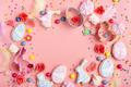 Sugar sprinkles, candies, Cookie cutters, Easter frosted cookies - PhotoDune Item for Sale