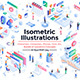 Modern Isometric Design illustration on various topics - GraphicRiver Item for Sale