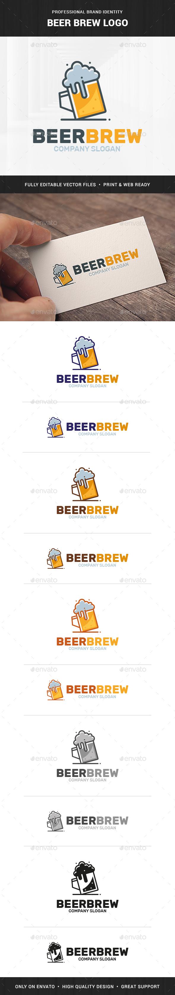 Beer Brew Logo Template
