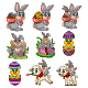 Set of Nine Happy Easter Day Collection - GraphicRiver Item for Sale