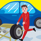 Car Mechanic Profession Vector Illustration - GraphicRiver Item for Sale