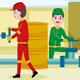 Oil Miner Profession Vector Illustration - GraphicRiver Item for Sale