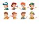 Bundle of Cartoon Children Portraits - GraphicRiver Item for Sale
