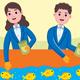 Fish Farmer Profession Vector Illustration - GraphicRiver Item for Sale
