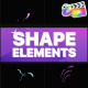Shape Elements Pack | FCPX - VideoHive Item for Sale