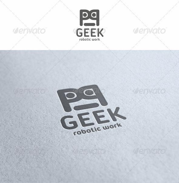 Geek - Robotic Work Logo