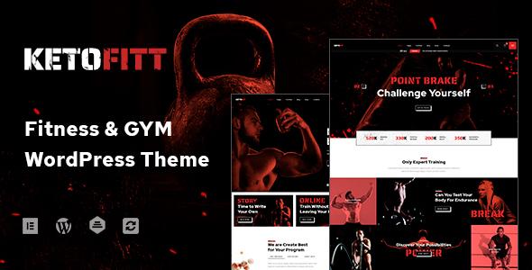 KetoFitt - Fitness & GYM WordPress Theme
