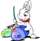 Funny Melody Easter Bunny