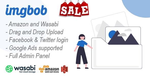 Imgbob - Upload And Share Images Platform