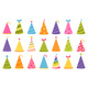 Set of Colorful Birthday Caps for Celebration - GraphicRiver Item for Sale