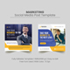 Corporate Social Media Post Banner Template - GraphicRiver Item for Sale