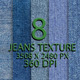 8 Jeans Texture Background Part - GraphicRiver Item for Sale