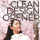 Clean Design Opener - VideoHive Item for Sale