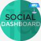 Social Media Dashboard Keynote Presentation Template - GraphicRiver Item for Sale
