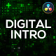 Digital Technology Intro for DaVinci Resolve - VideoHive Item for Sale