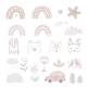 Set of Cartoon Childhood Symbols and Icons - GraphicRiver Item for Sale