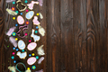 Sugar sprinkles, candies, feathers, cookie cutters, Easter frosted cookies - PhotoDune Item for Sale