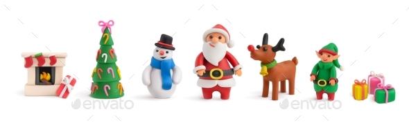Christmas Realistic Set