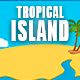 Tropical Island Fun Logo