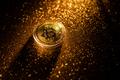 golden Bitcoin virtual money concept. - PhotoDune Item for Sale