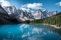 Beautiful Moraine lake in Banff national park, Alberta, Canada - PhotoDune Item for Sale