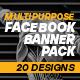 Facebook Banner Pack - GraphicRiver Item for Sale