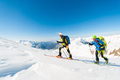 Ski mountaineers in action - PhotoDune Item for Sale