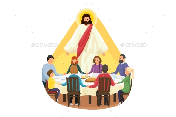Christianity Family Meal Religion Protection