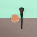 Loose face makeup powder with make-up brush - PhotoDune Item for Sale