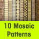 10 Seamless Polished Stone Mosaic Tiles - GraphicRiver Item for Sale