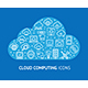 Cloud Computing Concept Banner Card - GraphicRiver Item for Sale