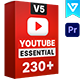 Youtube Essential Library | Premiere Pro - VideoHive Item for Sale