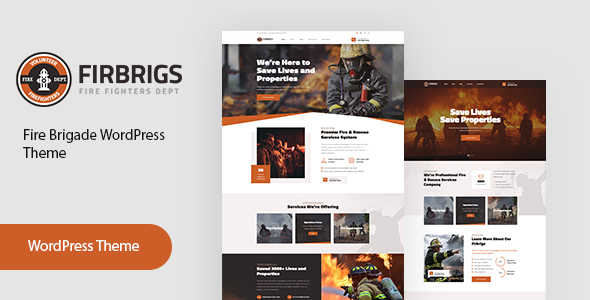 Firbrigs - Fire Department WordPress Theme