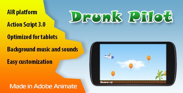 Drunk Pilot for Adobe AIR