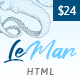 LeMar - Finest Seafood Restaurant HTML Template - ThemeForest Item for Sale