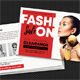 Fashion Sale Postcard - GraphicRiver Item for Sale