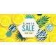 Summer Sale Horizontal Banner Bright Invitation - GraphicRiver Item for Sale