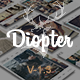 Diopter - Creative Responsive  Photography Portfolio  Template - ThemeForest Item for Sale