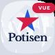Potisen - Election & Political Vue Nuxt Template - ThemeForest Item for Sale