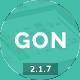 Gon   Responsive Multi-Purpose WordPress Theme - ThemeForest Item for Sale