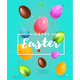 Modern Composition Happy Easter  3D - GraphicRiver Item for Sale