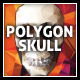 Polygon Vector Skull & Vibrant Polygon Background - GraphicRiver Item for Sale