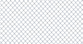 Isolated Chain-Link Fence - PhotoDune Item for Sale