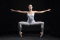 ballet dancer isolated on black background - PhotoDune Item for Sale
